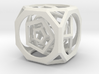 Multi-layer hollow polyhedron 3d printed