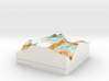 Mt. Aspiring / Tititea - 15cm / 1:50k 3d printed
