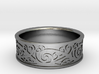 Maori Kowhaiwhai Design Ring - US Size 10 (19.9mm) 3d printed