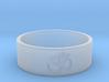 OM Ring - Embossed 3d printed