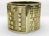 OGBEROSO Ring Size 11-13 3d printed