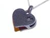 Heart Pendant Letter Big A 3d printed heart letter pendant3