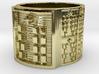 OYEKUNBIRETE Ring Size 14 3d printed