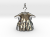 baby dress bell pendant  3d printed