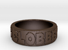It's Clobberin Time Ring 3d printed