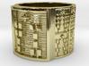 IWORIJUANI Ring Size 13.5 3d printed