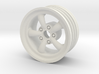 Front SRB EMPI 5 spoke wheel 3d printed