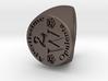 Custom Signet Ring 30 Size 7.5 3d printed