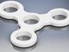 Basic 3 Section Spinner 3d printed material: white plastic