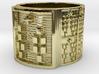 ODILEKE Ring Size 14 3d printed