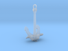 1/96 DKM Stern anchor (port side) 3d printed