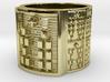 OBARASHE Ring Size 11-13 3d printed
