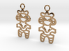 Dogu Earrings 3d printed