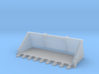 "1:50 72"" Tooth bucket for Cat 242D/259D skid steer 3d printed"