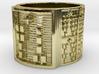 OGUNDALENI Ring Size 14 3d printed