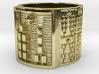 OGUNDABARA Ring Size 11-13 3d printed