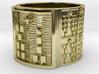 OGUNDAKA Ring Size 14 3d printed