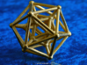 Hyper Icosahedron 3d printed