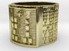 OGUNDATRUPON Ring Size 13.5 3d printed