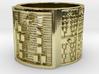 OGUNDATETURA Ring Size 13.5 3d printed