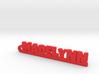 MADELYNN Keychain Lucky 3d printed