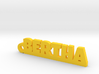 BERTHA Keychain Lucky 3d printed