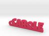 CAROLE Keychain Lucky 3d printed