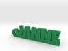 JANNE Keychain Lucky 3d printed
