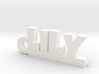 LILY Keychain Lucky 3d printed