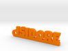 ISIDORE Keychain Lucky 3d printed