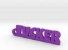 TUCKER Keychain Lucky 3d printed