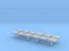 TJ-H04550x4 - bancs de quai 3 places 3d printed