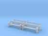 TJ-H04556x4 - bancs de quai en bois 3d printed