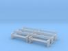 TJ-H04556x6 - bancs de quai en bois 3d printed