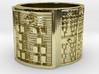 IKAWORI Ring Size 13.5 3d printed