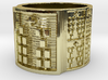 IKABARA Ring Size 14 3d printed