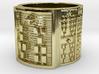 IKARETE Ring Size 11-13 3d printed