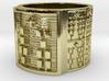 IKARETE Ring Size 13.5 3d printed