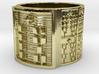 OTRUPONBEKENWAO Ring Size 13.5 3d printed