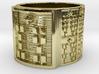 OTRUPONADAKINO Ring Size 14 3d printed