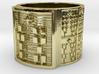 OTRUPONTAURO Ring Size 13.5 3d printed