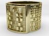 OTRUPONBIRETE Ring Size 14 3d printed