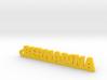 BERNADINA Keychain Lucky 3d printed
