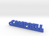 CAMPBELL Keychain Lucky 3d printed