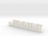 JENNINE Keychain Lucky 3d printed