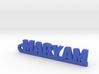 MARYAM Keychain Lucky 3d printed