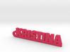KRISTINA Keychain Lucky 3d printed