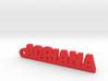 ADRIANA Keychain Lucky 3d printed