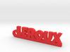 LEROUX Keychain Lucky 3d printed