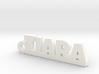 TIARA Keychain Lucky 3d printed
